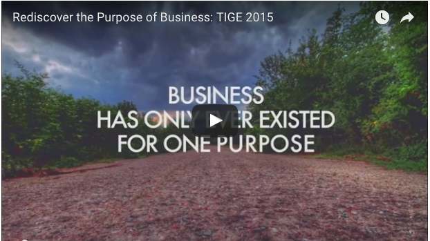 Rediscover the purpose of business